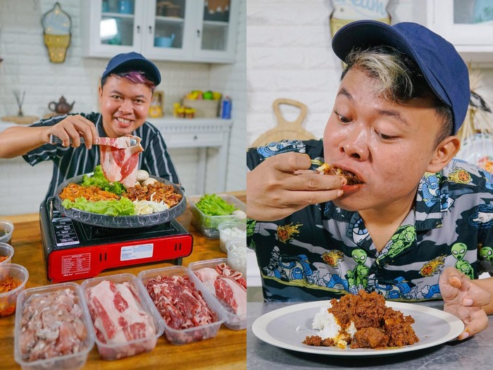 Di balik layar food vlogger saat endorse makanan