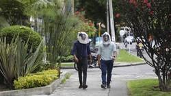 Start up di Kolombia ciptakan helm yang dapat mencegah penggunanya terpapar virus Corona. Bentuk helm ini pun unik seperti helm astronot. Seperti apa potretnya?