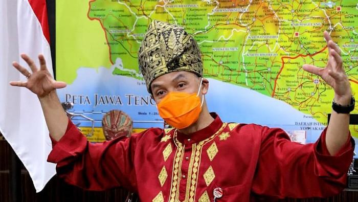 Gubernur Jateng, Ganjar Pranowo, Kamis (27/8/2020).