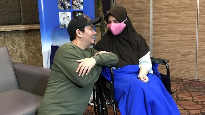 Indra Bekti dan Aldilla Jelita