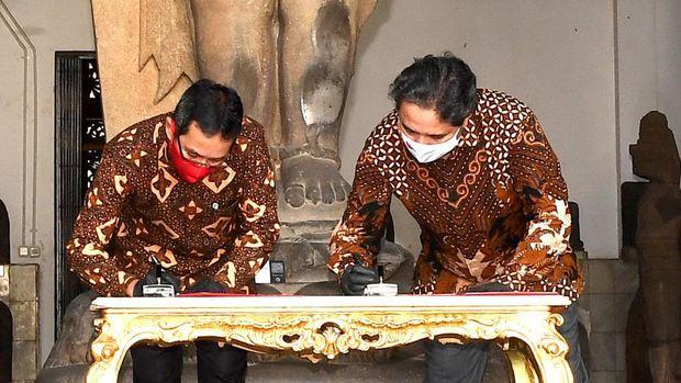 Istana Serahkan Keris Pusaka ke Museum Nasional Indonesia
