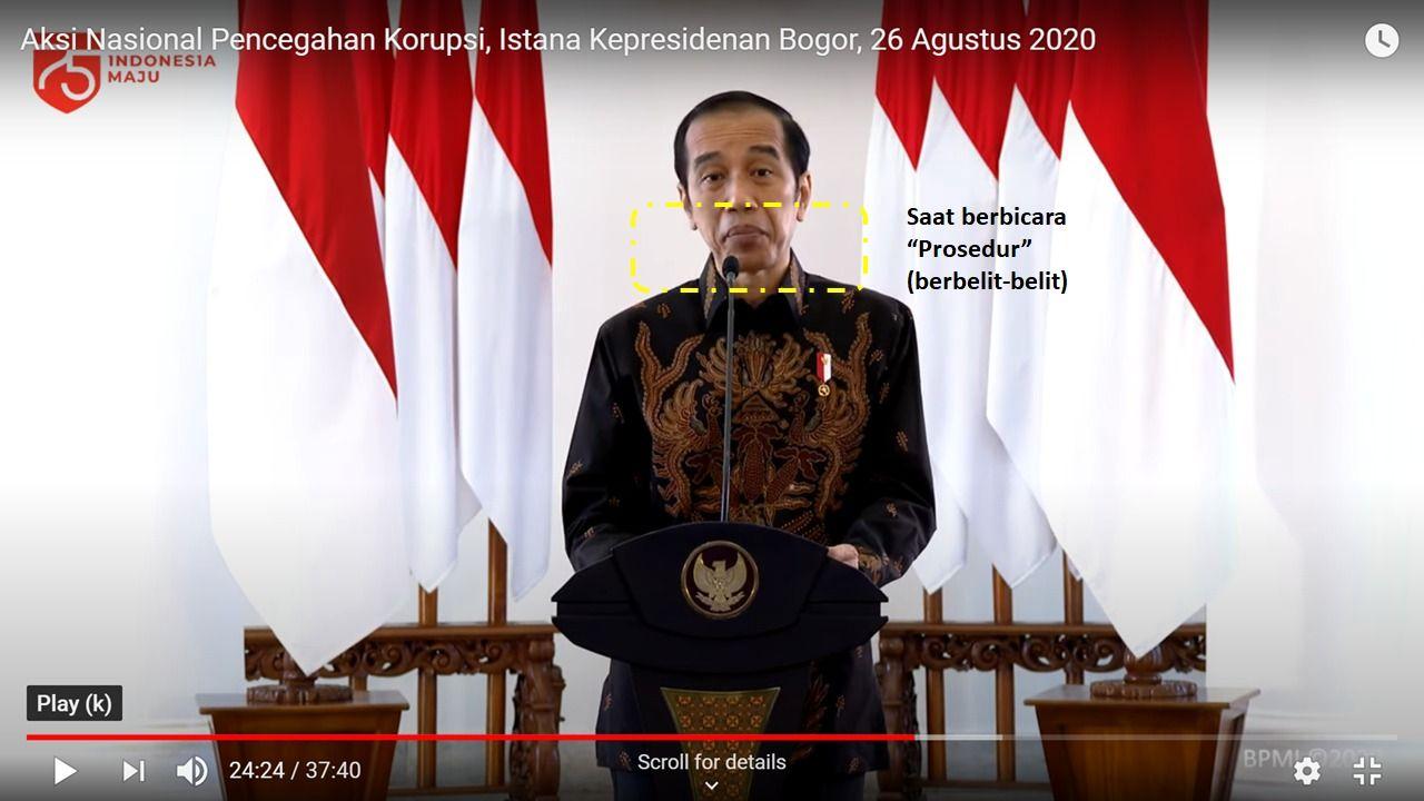 Jokowi dianalisis pakar gestur (Dok Istimewa)