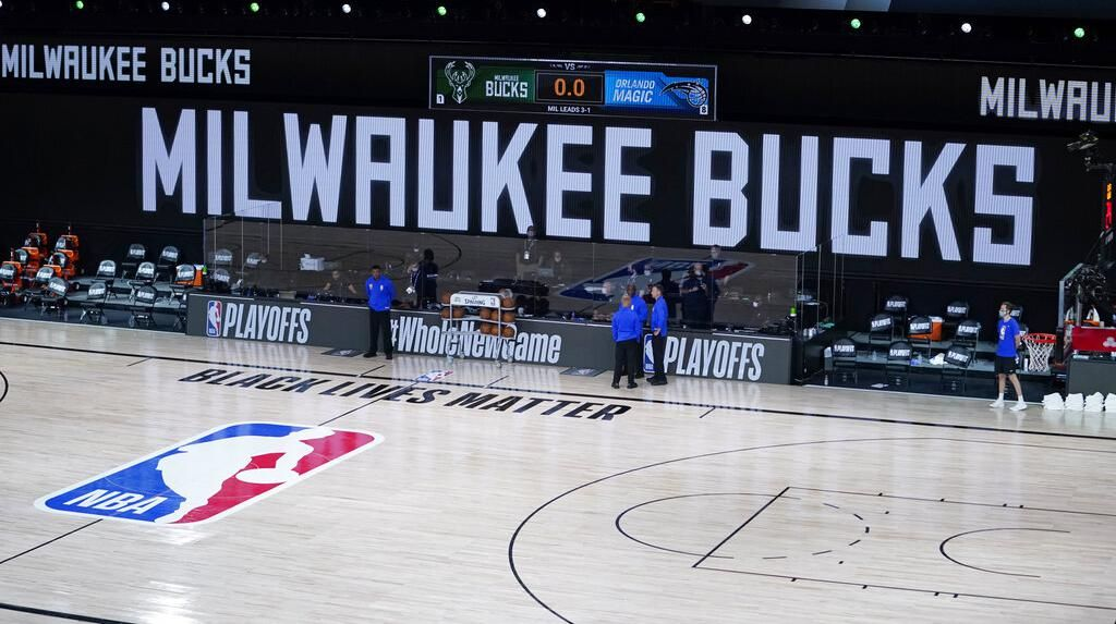 Foto: Laga Playoff NBA Diboikot Buntut Penembakan Jacob Blake
