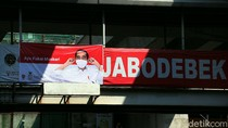 Lewat Spanduk, Jokowi Ajak Warga Gunakan Masker