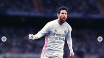 Lionel Messi Berkostum MU, City Sampai PSG, Keren Mana?