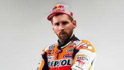 Messi Resmi Tinggalkan Barcelona, Dikontrak Repsol Honda?