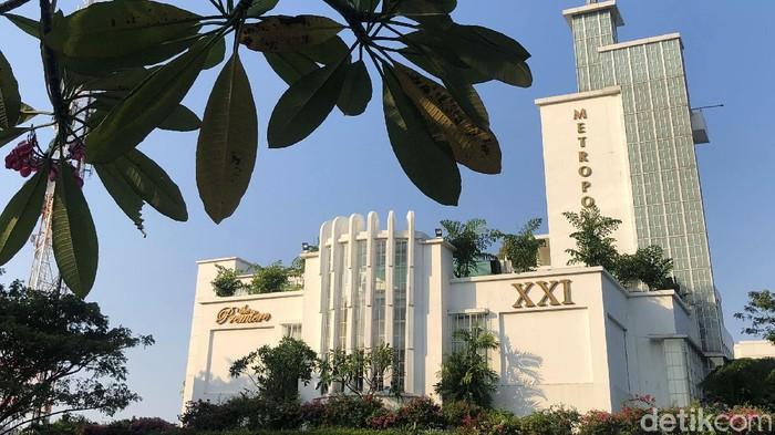 Begini kondisi gedung Metropole XXI yang tutup di Jakarta, Kamis (27/8/2020). Pemerintah dalam waktu dekat ini akan mengizinkan bioskop buka secara bertahap di tengah pandemi Corona.