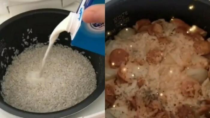Resep Nasi Campur Susu
