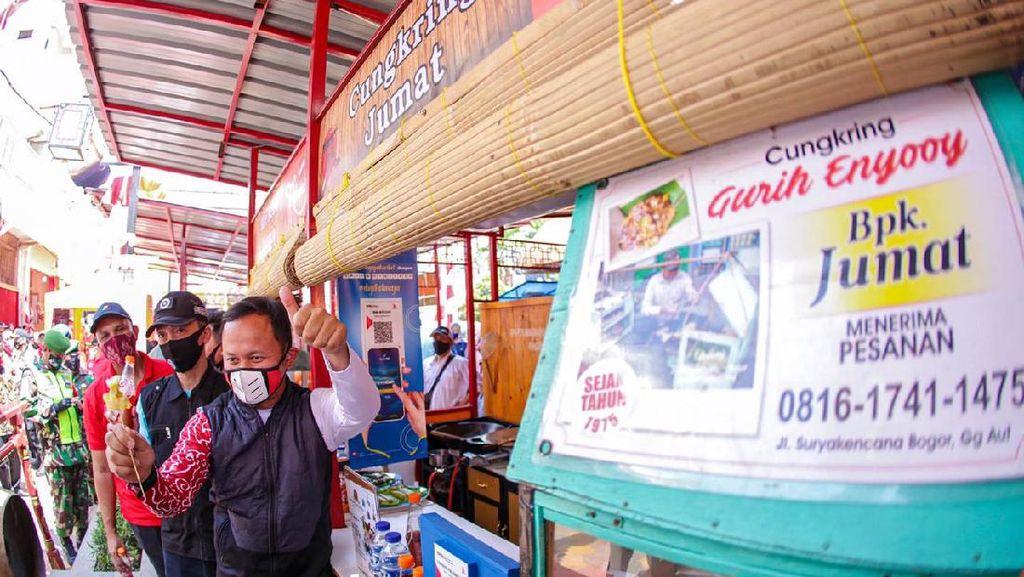 Bima Arya Resmikan Teras Surken, Ada Banyak Kuliner Legendaris Bogor