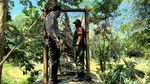 Potret Jembatan Putus yang Bikin 11 Orang Jatuh di Sukabumi