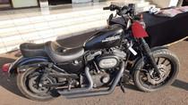 Kedok Pencuri Ganti Kelir Harley Davidson tapi Tetap Saja Terdeteksi