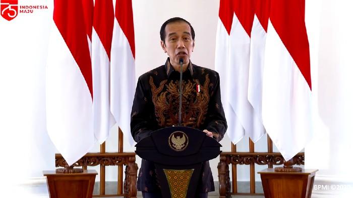 Presiden Jokowi, 26 Agustus 2020, dalam acara Aksi Nasional Pencegahan Korupsi. (Dok YouTube Sekretariat Presiden)