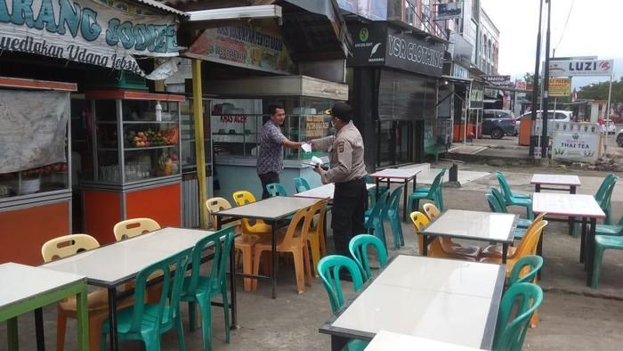 Tim gabungan patroli protokol kesahatan di Aceh