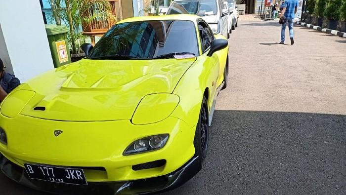 33 Kendaraan Disita Polisi Selama Operasi Patuh di Tangsel, 1 Mobil Sport