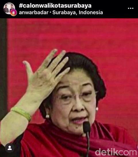 Beredar Video 'Ndasku Mumet, Ndasmu Piye' dengan Latar Belakang Rekom PDIP Untuk Surabaya