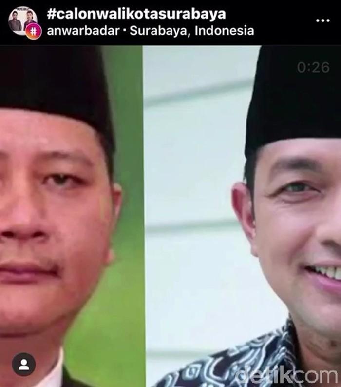 Beredar Video Ndasku Mumet, Ndasmu Piye dengan Latar Belakang Rekom PDIP Untuk Surabaya