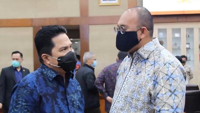 Erick Thohir dan Andre Rosiade/Dok Istimewa