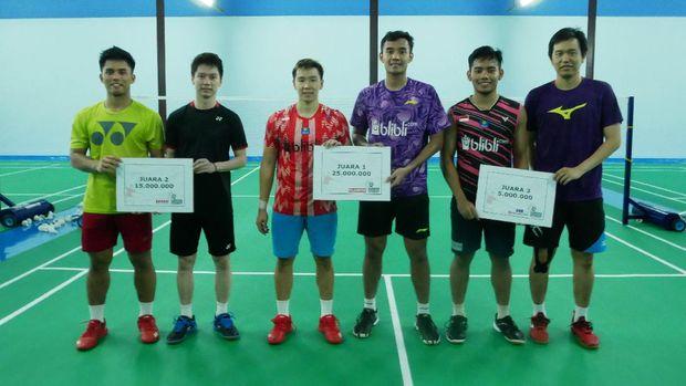 Gideon Badminton Hall, Bulutangkis