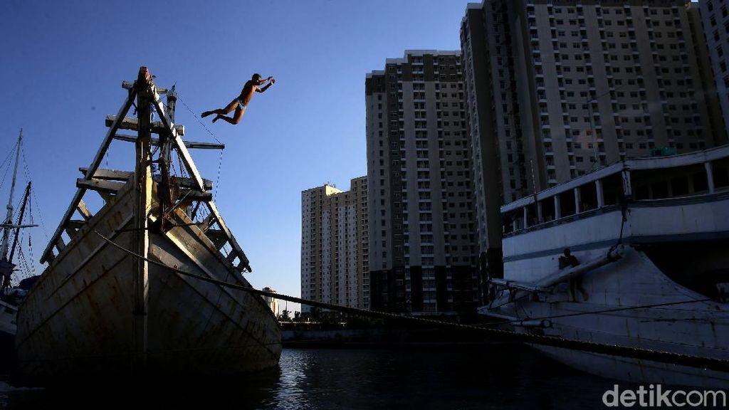 Menikmati Sore di Pelabuhan Sunda Kelapa