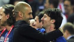 Saran Pep Guardiola: Jangan Pernah Ganti Messi, Pokoknya Jangan!