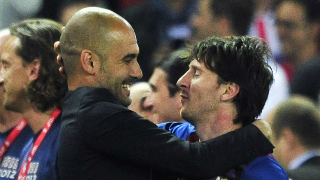 Guardiola: Messi Sudah Tepat Bertahan di Barcelona