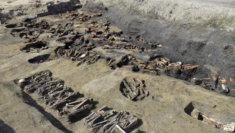 Ribuan Fosil Korban Wabah Penyakit Ditemukan di Osaka