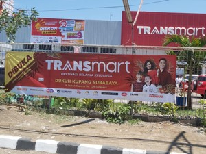 Lebih Lengkap, Carrefour Dukuh Kupang Surabaya Kini Jadi Transmart