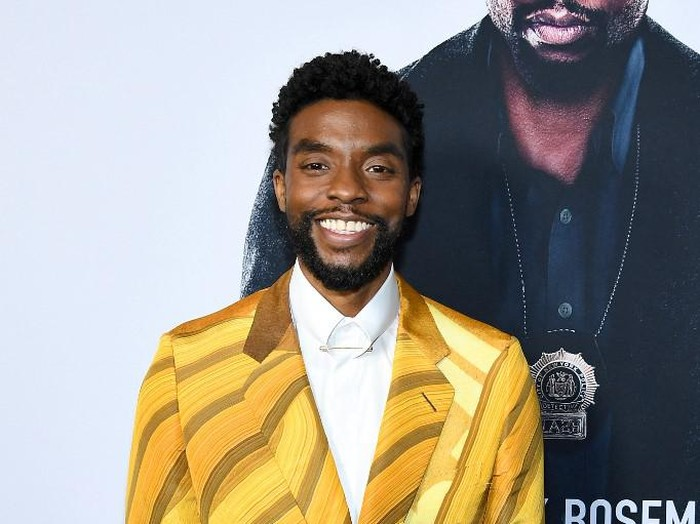 NEW YORK, NEW YORK - NOVEMBER 19: Chadwick Boseman attends the 21 Bridges New York Screening at AMC Lincoln Square Theater on November 19, 2019 in New York City.   Dimitrios Kambouris/Getty Images/AFP