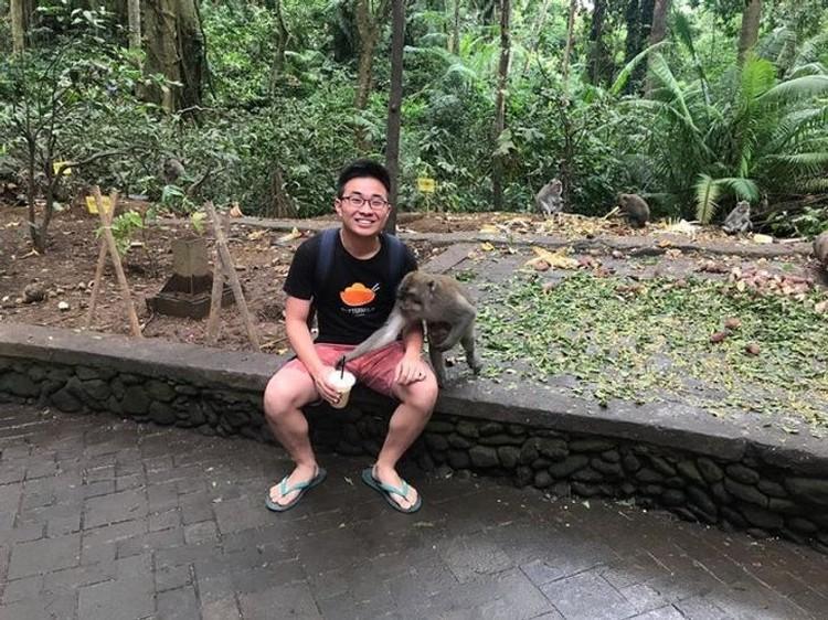 Foto Momen Tak Sengaja