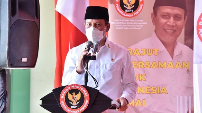 Kepala BNPT Komjen Boy Rafli Amar saat bersilaturahmi dengan tokoh masyarakat dan tokoh agama di wilayah Jawa Tengah (dok BNPT)