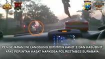 2 Kg Sabu Diamankan Polisi Surabaya Usai Kejar-kejaran dengan 3 Kurir
