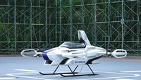 Di tahun 2023, diharapkan mobil ini dapat bertahan terbang di udara selama 30 menit. Di akhir tahun ini, perusahaan berencana mendapatkan izin terbang di luar lapangan Toyota. (dok. Skydrive)