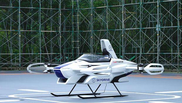 Mobil Terbang SkyDrive sudah diuji.