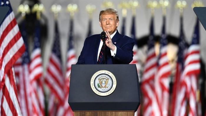 Pilpres AS: Jadi petahana Partai Republik, Trump tuding Joe Biden akan menghancurkan mimpi Amerika