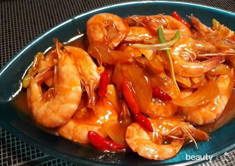 Udang Saus Padang / cookpad.com/id/resep/3967175-udang-saus-padang-ala-seafood