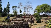 Foto: Taman Purbakala dari Kuningan, Isinya Batu Semua