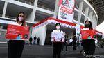 Ada Aksi Bagikan Masker untuk Cegah Corona di GBK
