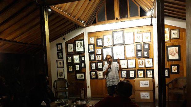 Butet Kartaredjasa Curhat soal Seniman yang Ingin Karyanya Dihargai Negara