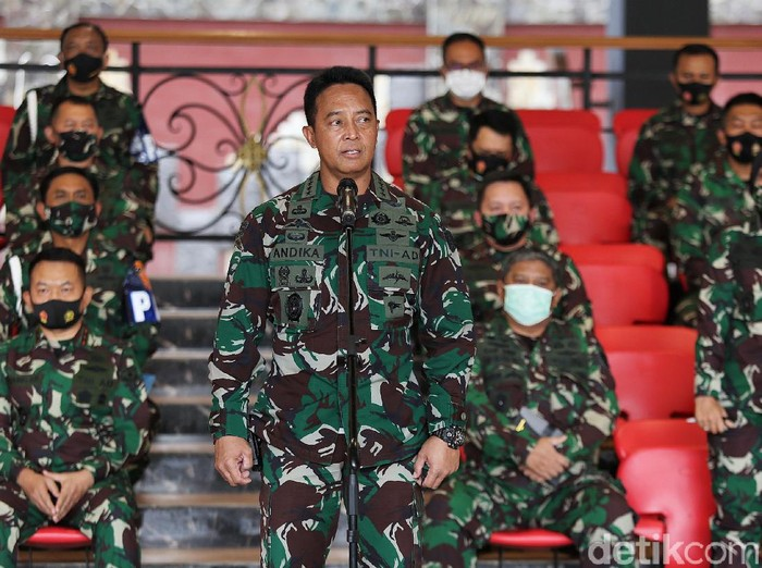 KSAD Jenderal Andika Perkasa Buka suara terkait penyerangan Polsek Ciracas, Jaktim. Ia akan ambil langkah tegas pada anggotanya yang terlibat penyerangan itu.