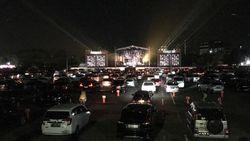 Sensasi Nonton Afgan-Armand Maulana di Konser Drive-in