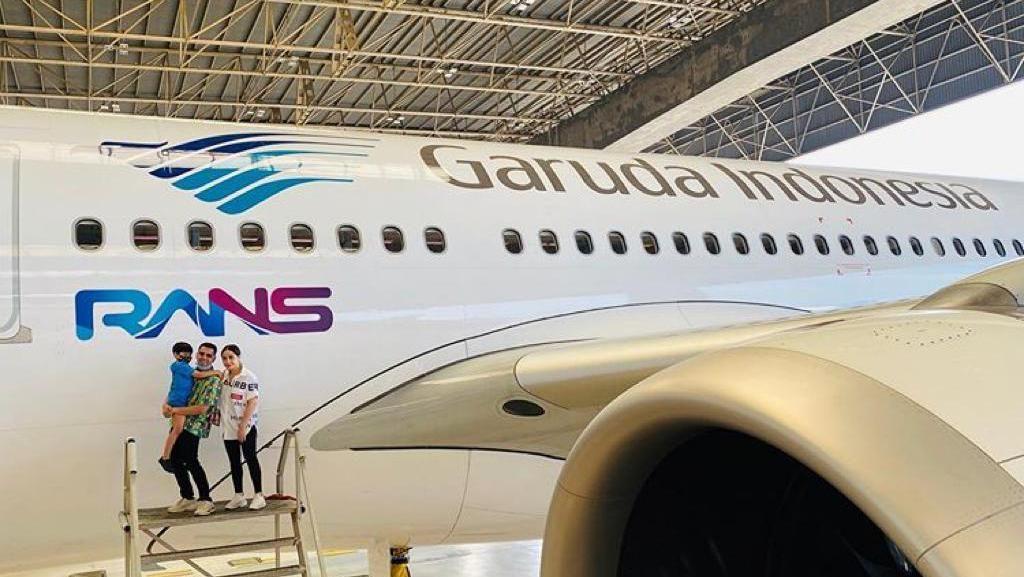 Logo RANS Terpampang di Pesawat Garuda, Kerjasamakah?