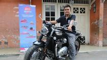 Ini Ungkapan Mahasiswa Pemenang Motor Triumph 1.200 cc dari Pertamina
