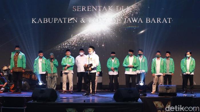 PKB serahkan rekomendasi dukungan untuk tujuh calon kepalada daerah.