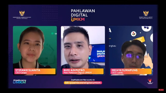 Talkshow Pahlawan Digital UMKM