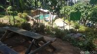 Objek wisata Tenjo Layar sendiri mulai dibangun pada tahun 2017 lalu oleh para pemuda setempat yang tergabung dalam karang taruna Ciremai Muda. (Bima Bagaskara/detikcom)
