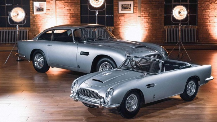 Aston Martin DB5 versi mungil
