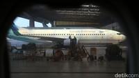 Mengenai kekhawatiran penumpang terkena virus Corona di pesawat Adita menepisnya. Pesawat di Indonesia rata-rata sudah menggunakan filter High-efficiency particulate air (HEPA) yang membuat sirkulasi udara di pesawat sangat baik. Rengga Sancaya/detikcom