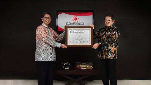 IPO PT Pinago Utama Tbk (PNGO), 31 Agustus 2020/Dok BEI