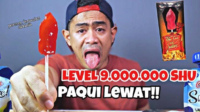 5 YouTuber Mukbang Camilan Pedas