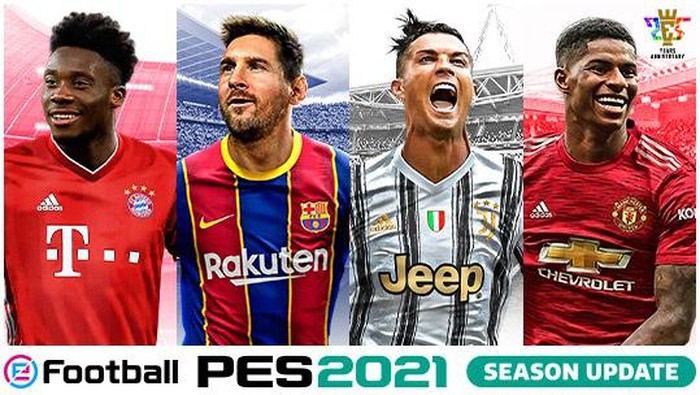 Cover game PES 2021